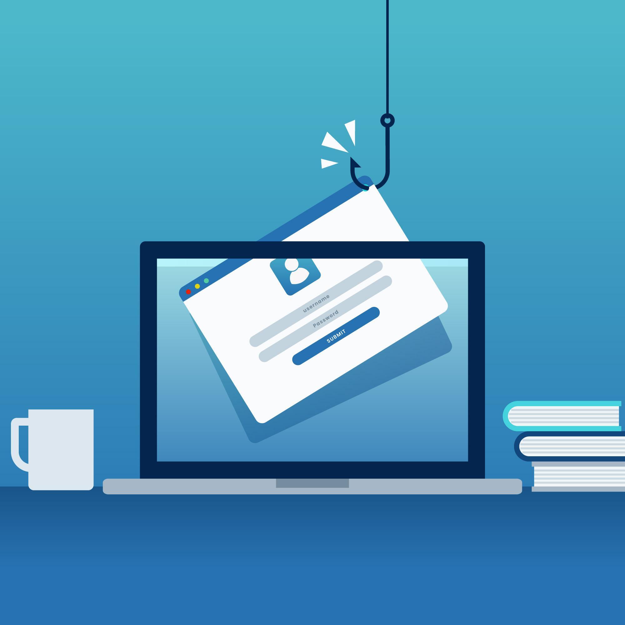 phishingový útok