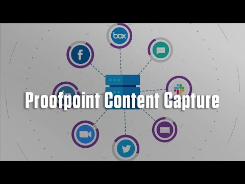Proofpoint Content Capture