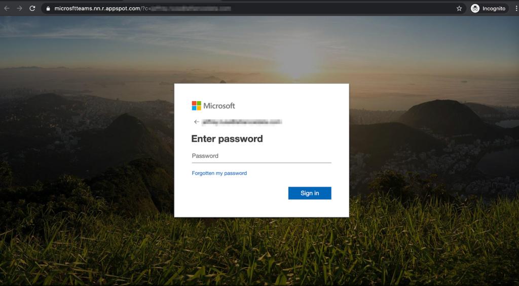Phishingové útoky na Teams