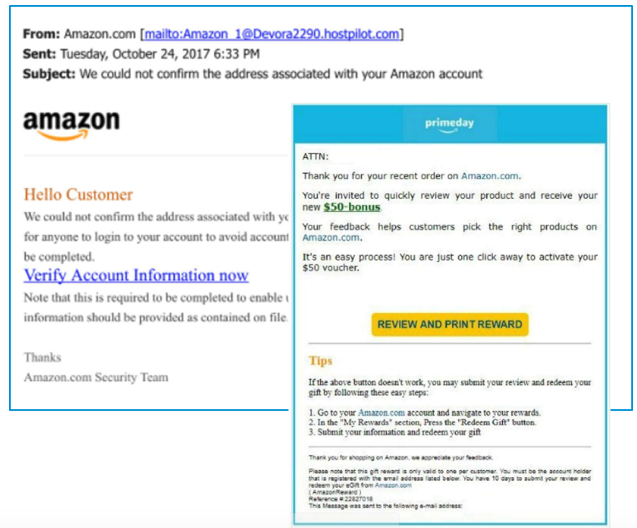 amazon phishing