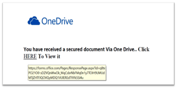 OneDrive Document príklad