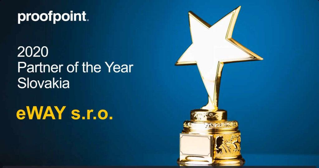 proofpoint partner roku ocenenie