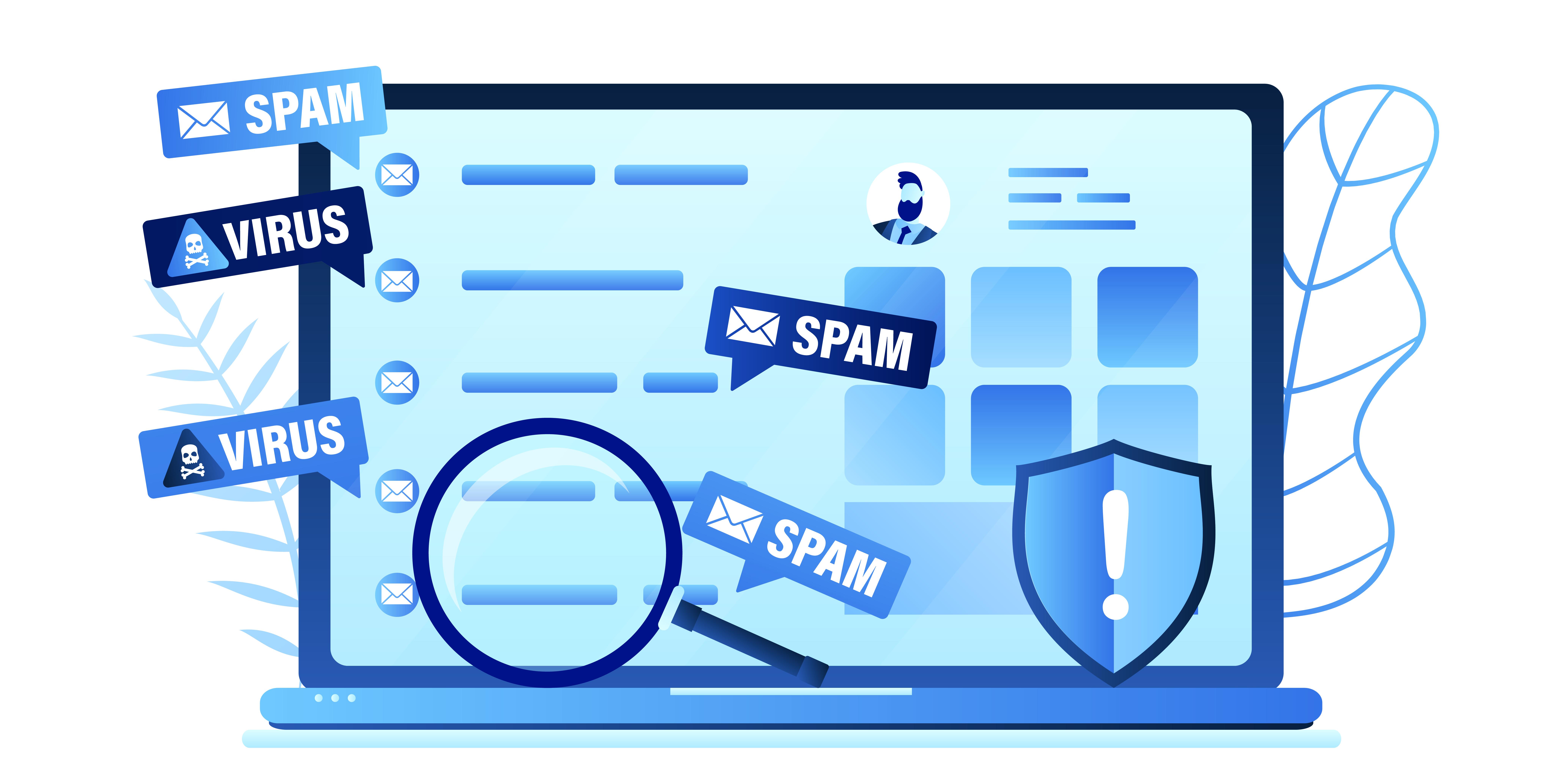 blog spam phishing antivir email